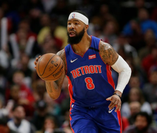 Markieff Morris Pistons Agree To Buyout Slam