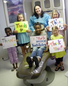 Thank you America's ToothFairy for pediatric dental disease care
