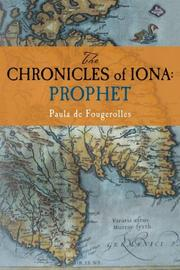 Cover art for THE CHRONICLES OF IONA: PROPHET