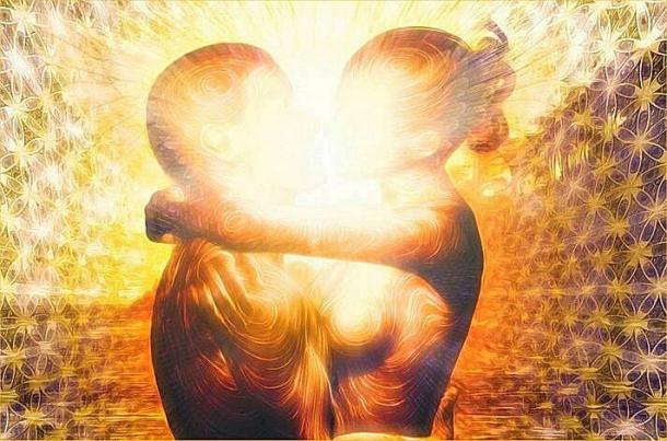 Znalezione obrazy dla zapytania milosc bratnich dusz zdjecia