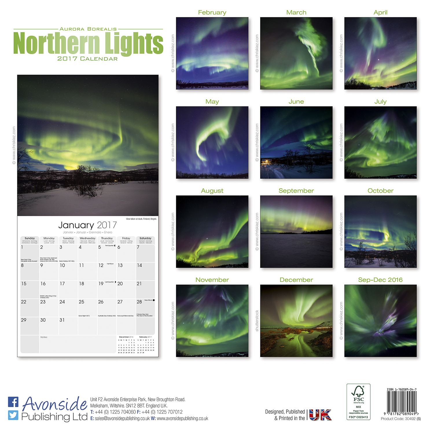 Northern Lights Holiday 2017