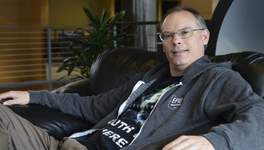 Epic Games Ceo Tim Sweeney Addresses Chinese Investor Tencent