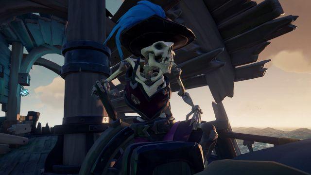 Sea of Thieves skeleton pirate screenshot