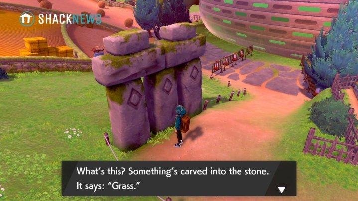 Acertijo de piedra de Turffield - Ubicación de la piedra de hierba