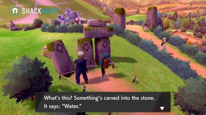 Acertijo de piedra de Turffield - Ubicación de la piedra de agua