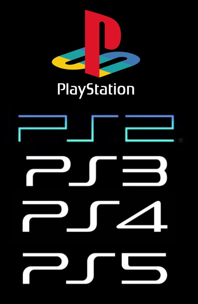 Image result for playstation 5 logo and ps4 and ps3