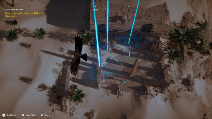 Assassin's Creed Origins - Visión de águila