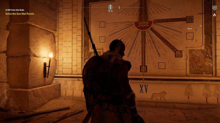 Assassin's Creed Origins: soluciones de rompecabezas de reloj de sol