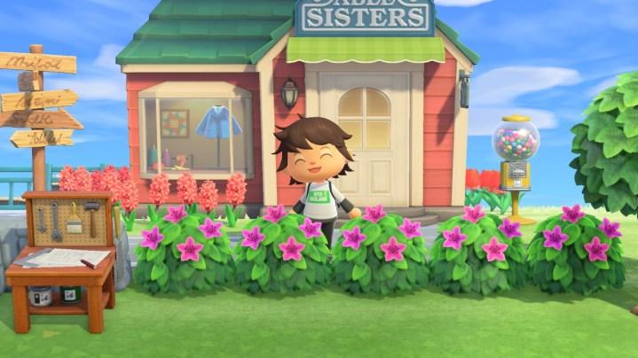 arbustos comprados en Leif - Animal Crossing: New Horizons