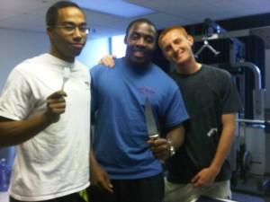 Thoman, Stephan Claxton and fellow cadet