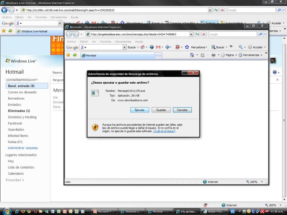 Alerta - Phishing (robo de claves) en Banesco (3/6)