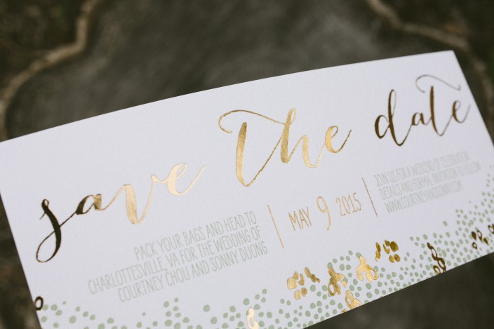 Save Date Cards Size