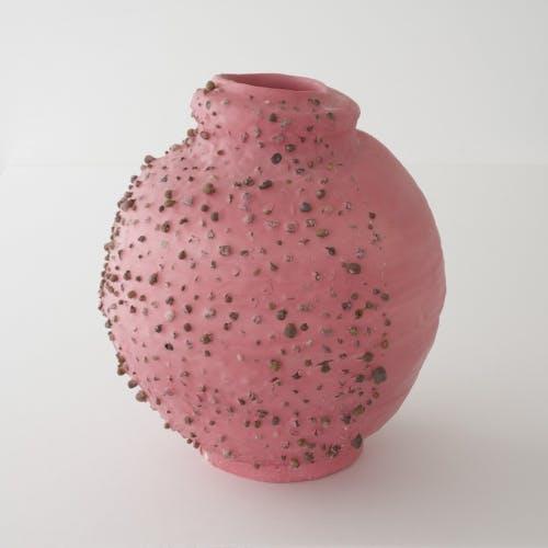 Pink Vase by Takuro Kuwata