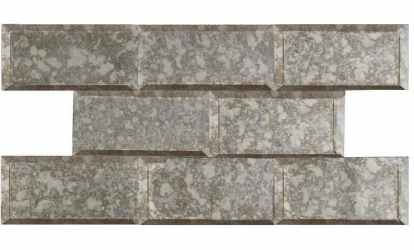 Home Depot Peel & Stick Antiqued Mirror Tiles