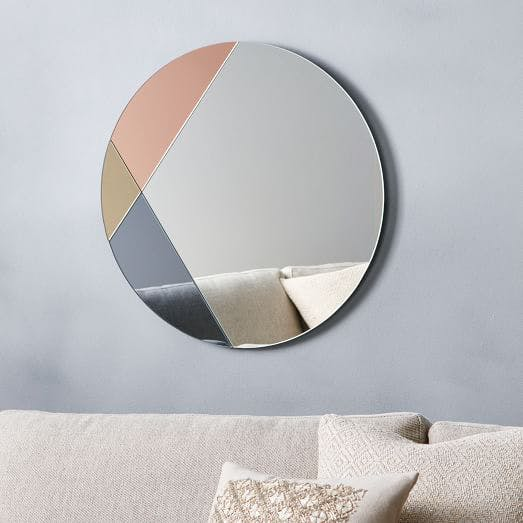ColorBlocked Mirror