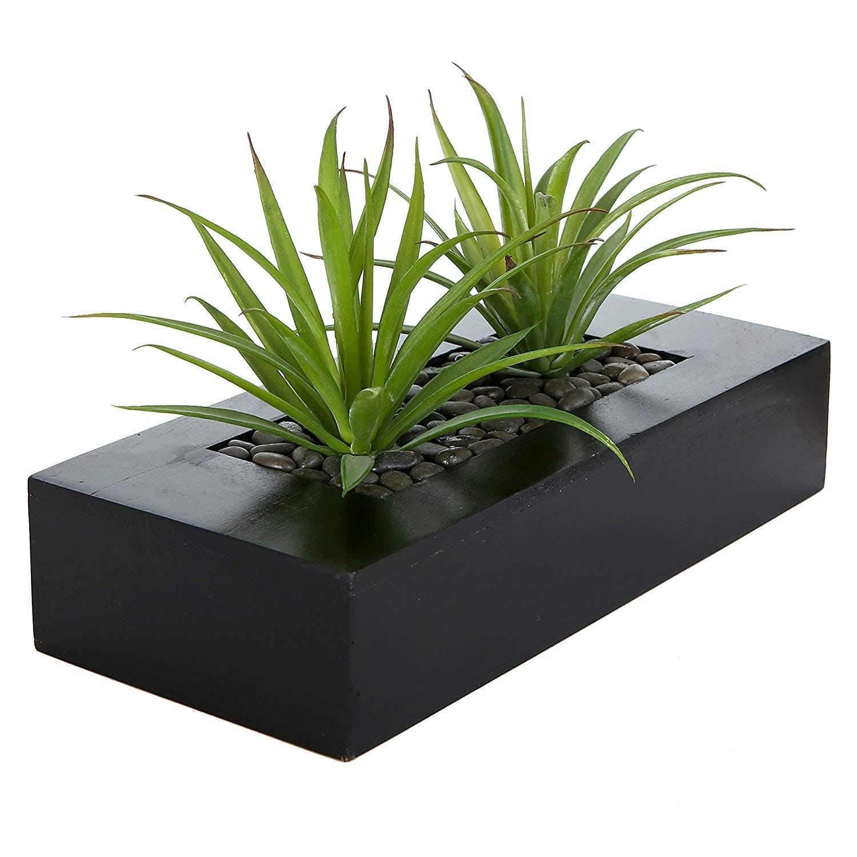 artificial, plant, planter, grass