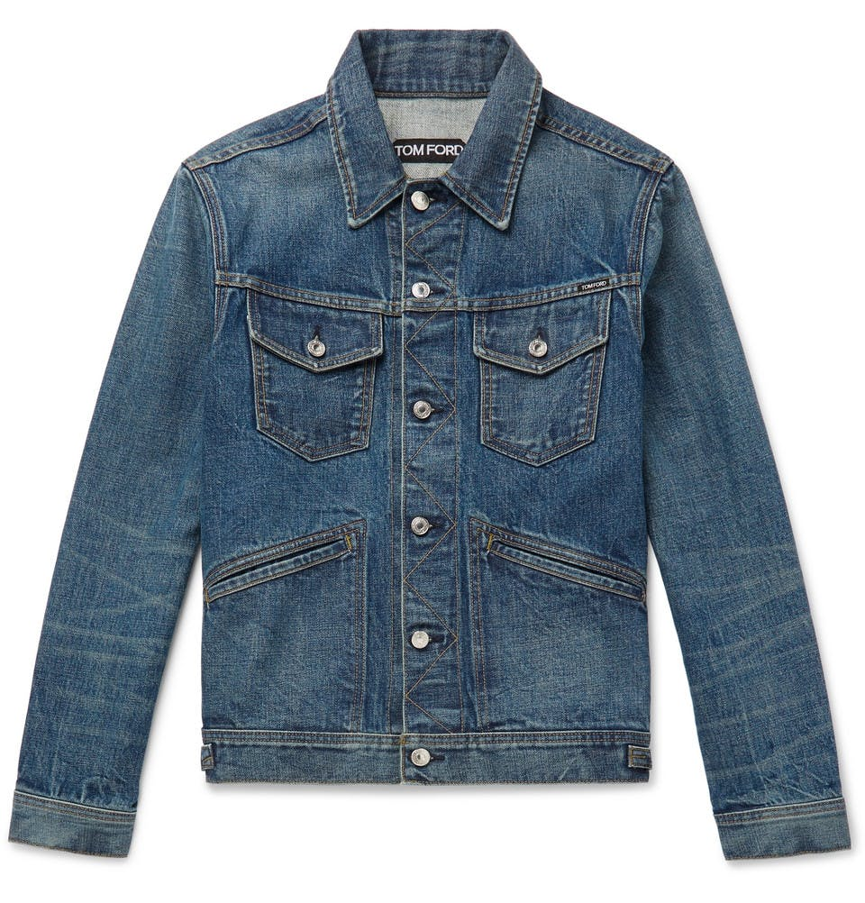 tom ford, denim jacket, jean jacket, trucker jacket