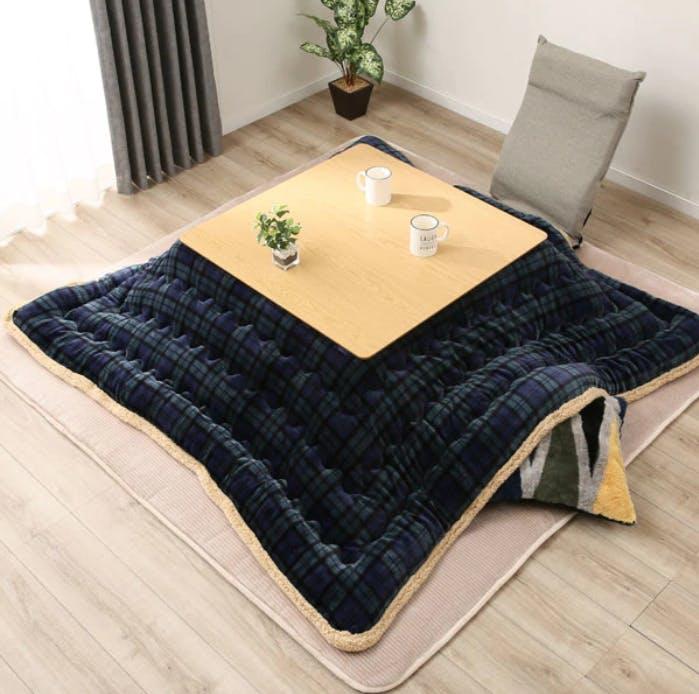 Kotatsu, coffee table, blanket, table cover, Japanese