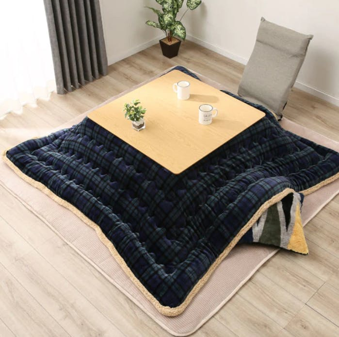 Kotatsu, coffee table, blanket, table cover, Japanese
