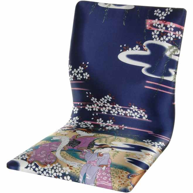 Tatami Meditation Backrest Chair