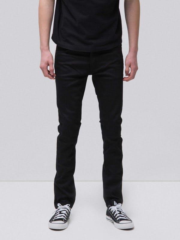 nudie jeans, dry denim, raw denim, selvedge denim, black denim