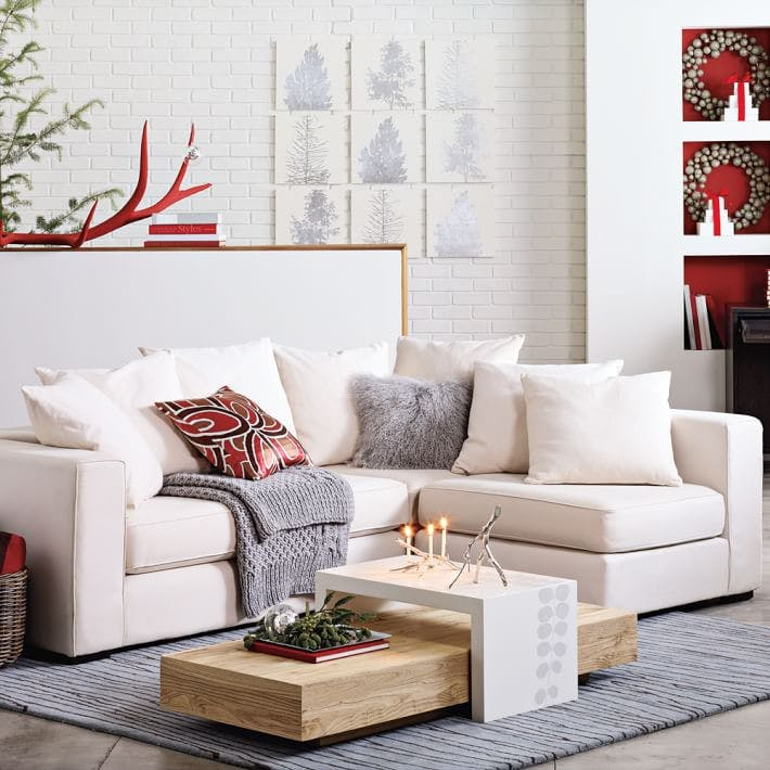 small, sofa, sectional