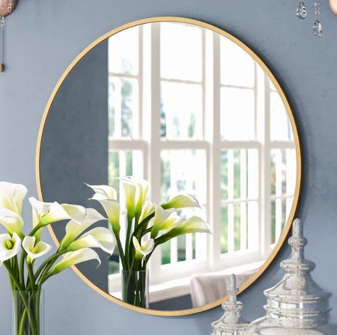 Wayfair, round, mirror