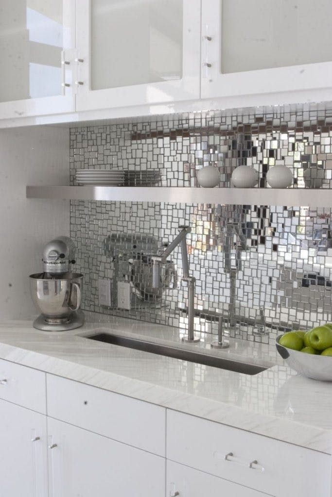 Mirrored Backsplash Inspiration