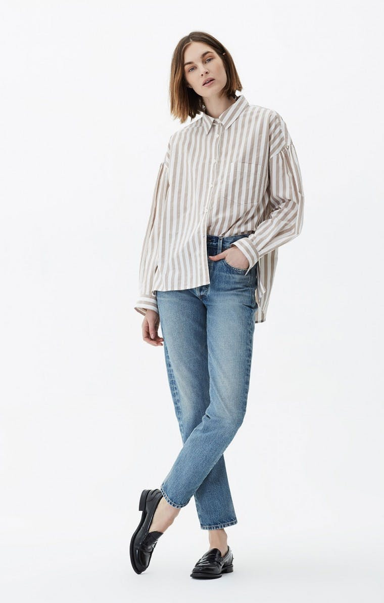 citizens of humanity, jeans, denim, high rise jeans, slouchy jeans, high waisted denim, blue jeans, vintage jeans, cropped jeans, easy jeans, straight leg jeans