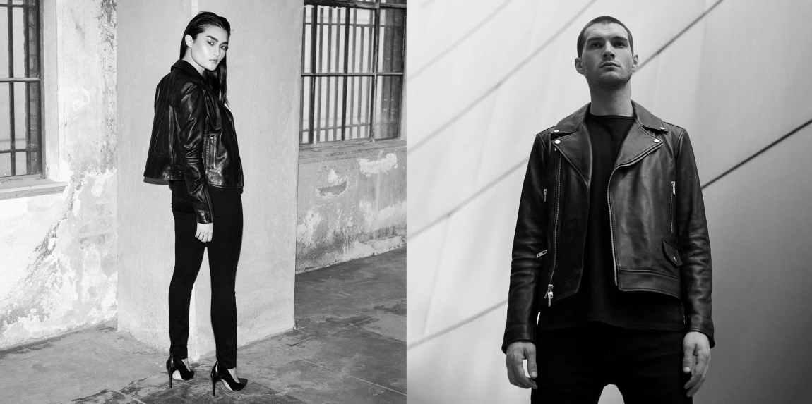 dstld denim, dstld, jeans, leather jacket, denim, affordable denim