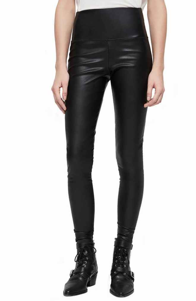Cora Faux Leather Leggings