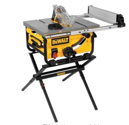 DEWALT DWE7480 / DWE7480XA TABLE SAW