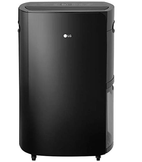 LG Energy Star PuriCare 70-Pint Dehumidifier, Black, 690W