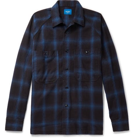 beams japan, beams, flannel shirt, plaid shirt, denim blog