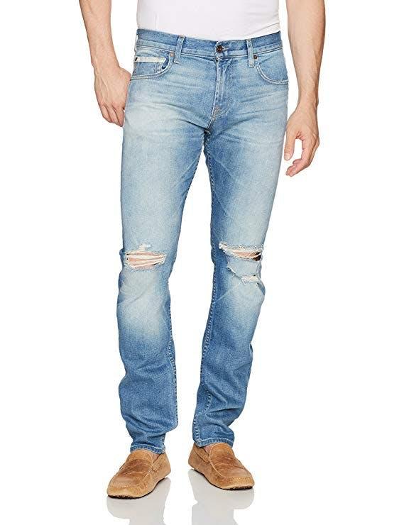 7 for all mankind, 7fam, sevens jeans, 7 for all mankind jeans, skinny jeans, distressed jeans, tapered jeans, lightblue jeans, denimblog, denim blog, jeansblog, jeans blog, amazon, amazon jeans, amazon denim, amazon fashion