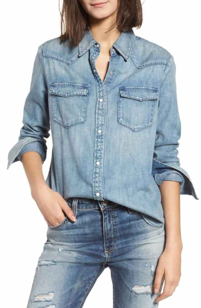 Deanna Denim Shirt