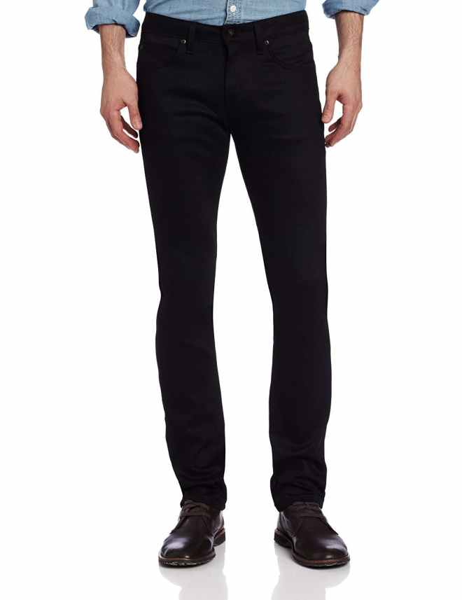 Men's Super Guy Jean In Black Power-Stretch