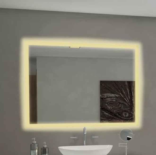 Goetsch Backlit Bathroom Vanity Mirror