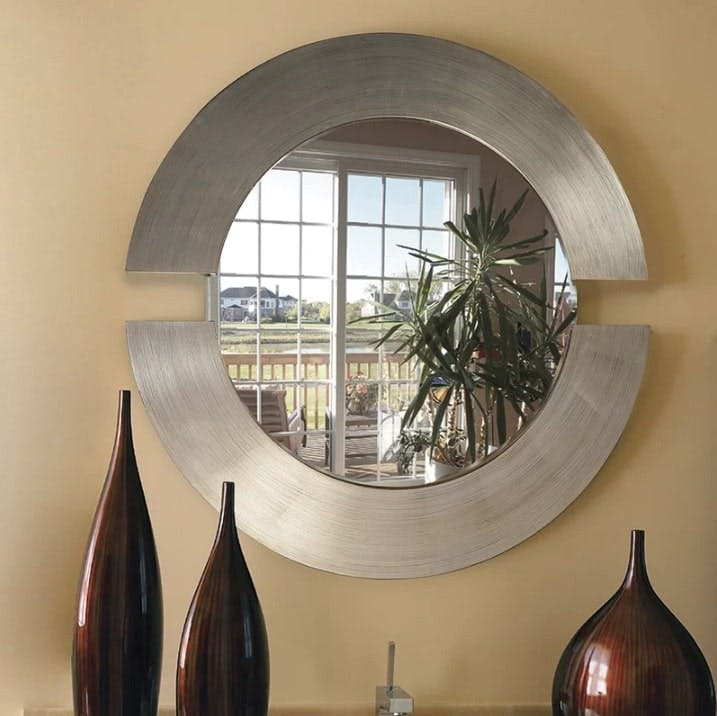 Matthew Round Accent Mirror