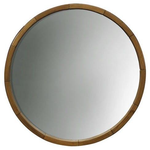 Round decorative wall mirror