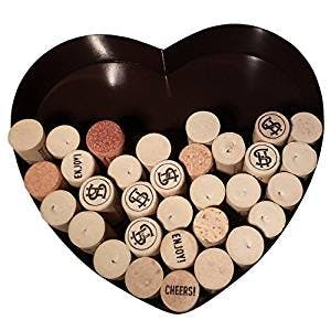 Heart Shaped Wine Cork Holder