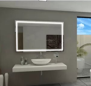 Goetsch Backlit Bathroom Vanity Mirror