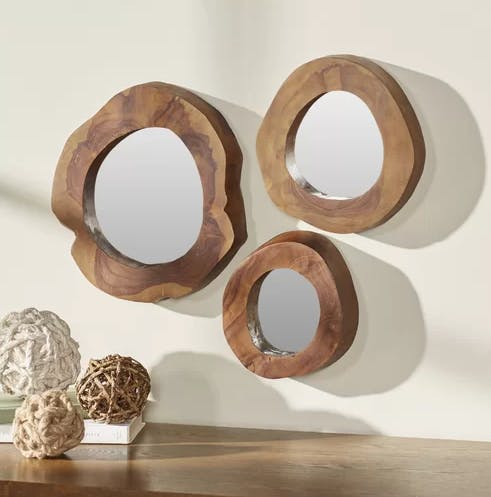 4-Piece Wall Mirror Set