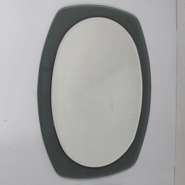 Vintage Italian Mirror from Veca