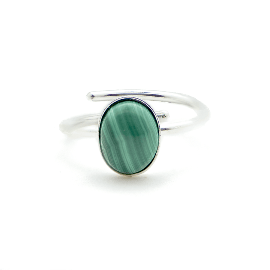 AGLAIA – BAGUE WILD MALACHITE