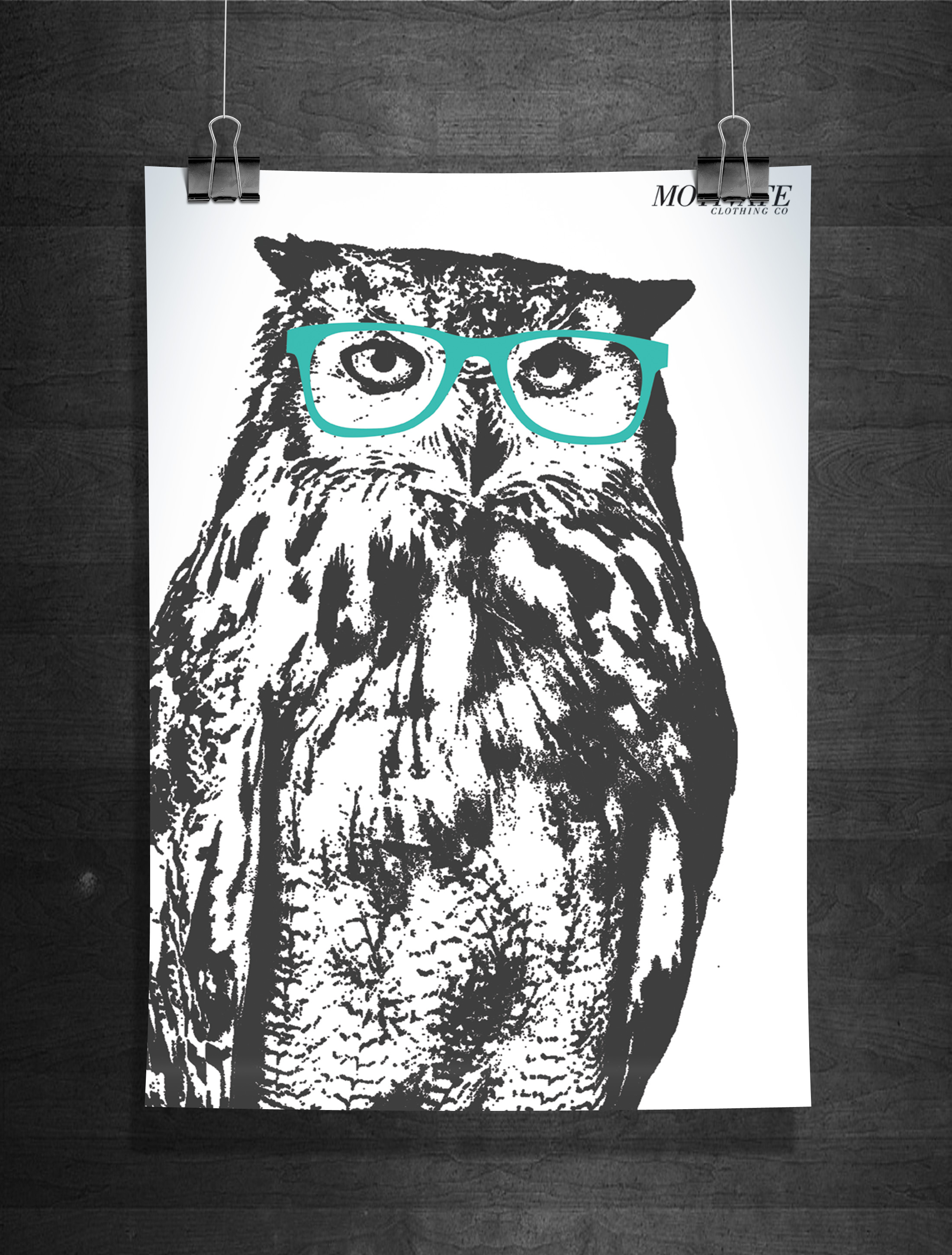 Owl Print On Storenvy