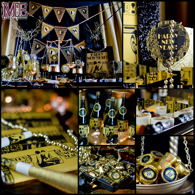 Gatsby Party Decorations 1920s Theme Party Metro