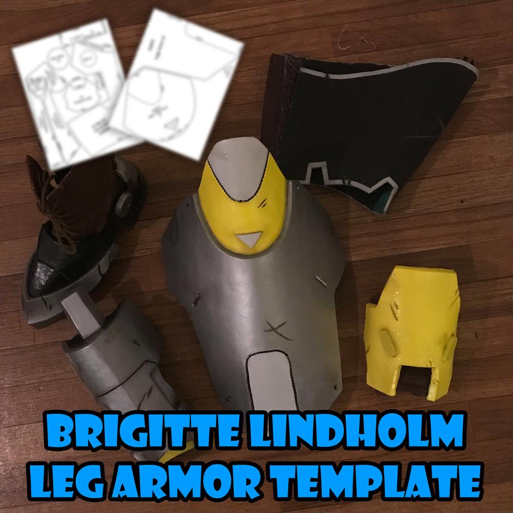 Brigitte Lindholm Leg Shoe Armor Template From Fae S Trinkets Prints