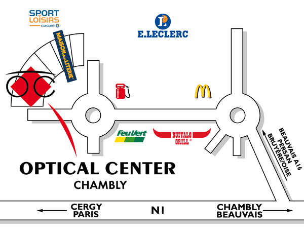opticien chambly optical center