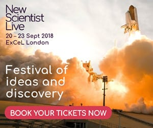 New Scientist Live 2018